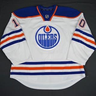 Yakupov, Nail White Set 1 Edmonton Oilers 2015-16 #10 Size: 56