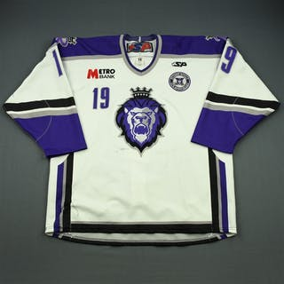 Caruana, Matt White Set 1 w/ 10th Anniversary Patch Reading Royals