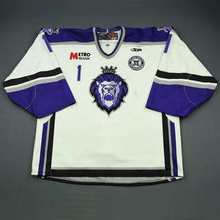 Dalton, Matt White Set 1 w/ 10th Anniversary Patch Reading Royals