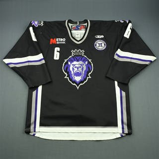 Haines, Casey Black Set 1 w/ 10th Anniversary Patch Reading Royals