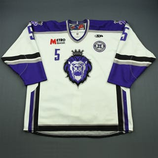 Liotti, Louis White Set 1 w/ 10th Anniversary Patch Reading Royals