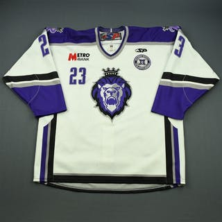 Riendeau, Yannick White Set 1 w/ 10th Anniversary Patch Reading Royals