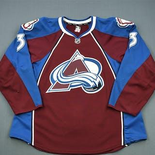 O'Byrne, Ryan Burgundy Set 2 Colorado Avalanche 2011-12 #3 Size: 58+