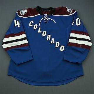 Olver, Mark Third Set 1 Colorado Avalanche 2011-12 #40 Size: 56