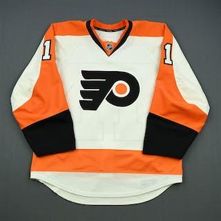 Wellwood, Eric White Set 1 Philadelphia Flyers 2012-13 #11 Size: 52