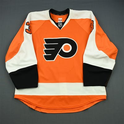 Syvret, Danny Orange Set 2 - Game-Issued (GI) Philadelphia Flyers