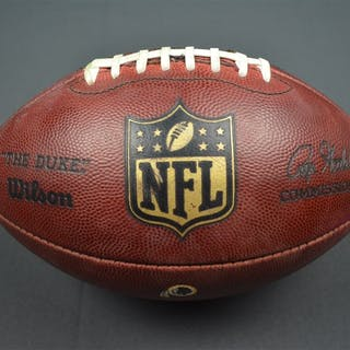 Game-Used Football Game-Used Football from October 25, 2015 vs. Tampa