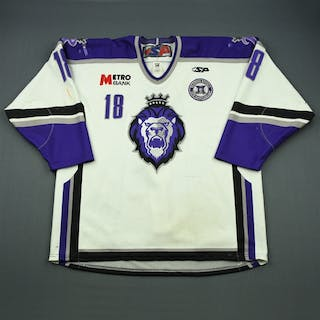 Scrymgeour, John White Set 1 w/ 10th Anniversary Patch Reading Royals