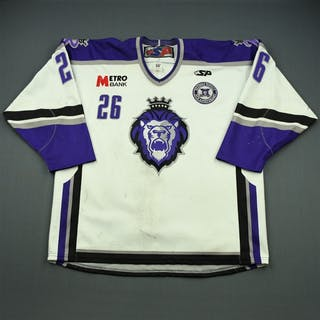 Slaney, Robert White Set 1 w/ 10th Anniversary Patch Reading Royals