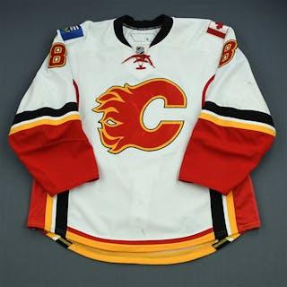 Morrison, Brendan White Set 1 (Flames Debut) Calgary Flames 2010-11 #8 Size: 56