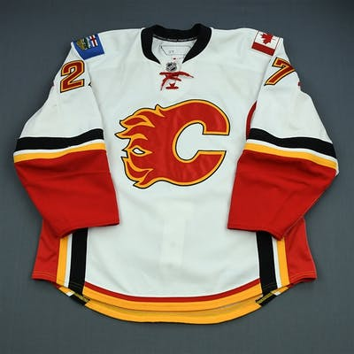 Staios, Steve White Set 1 (A removed) Calgary Flames 2010-11 #27 Size: 56