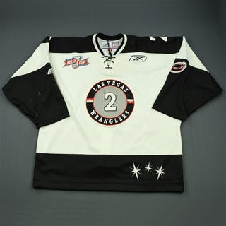 Fritsch, Jamie White Kelly Cup Finals Las Vegas Wranglers 2011-12 #2 Size: 56