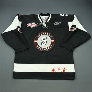 May, Jeff Black Kelly Cup Finals Las Vegas Wranglers 2011-12 #5 Size: 56