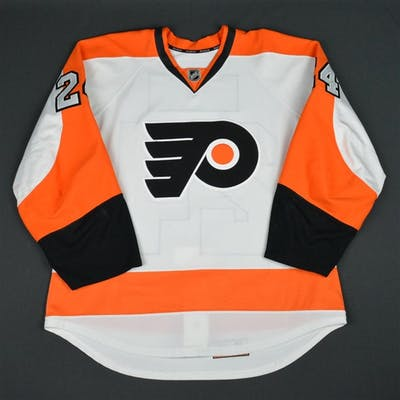 Read, Matt White Set 2 Philadelphia Flyers 2015-16 #24 Size: 54