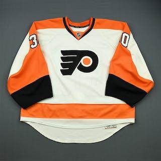 Bryzgalov, Ilya White Set 2 Philadelphia Flyers 2012-13 #30 Size: 58G