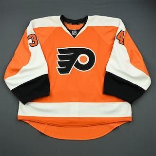 Hovinen, Niko Orange Set 2 - Game-Issued (GI) Philadelphia Flyers