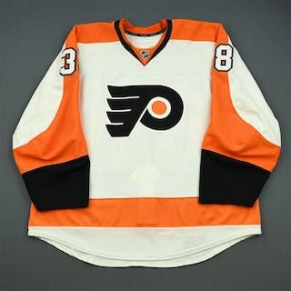 Lauridsen, Oliver White Set 2 Philadelphia Flyers 2012-13 #38 Size: 58+