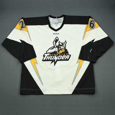 O'Connor, Ian White Set 1 Stockton Thunder 2011-12 #26 Size:56