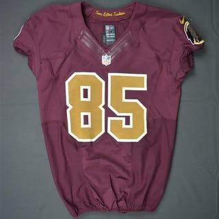 McCoy, Anthony Burgundy Throwback - worn October 25, 2015 vs. Tampa