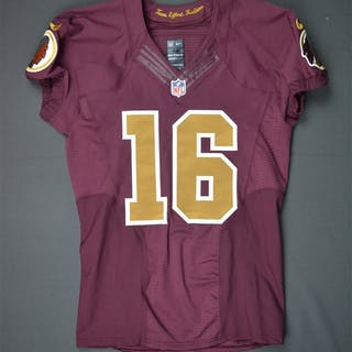 McCoy, Colt Burgundy Throwback - worn October 25, 2015 vs. Tampa Bay