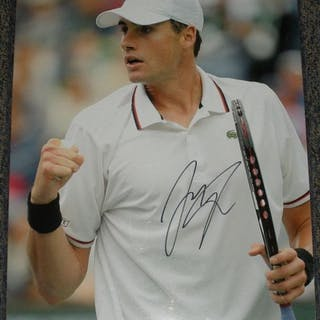 Isner, John Autographed 16x20 2012