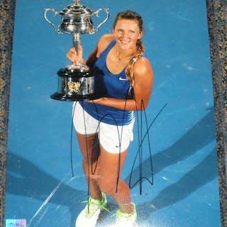 Azarenka, Victoria Autographed 8x10 2012