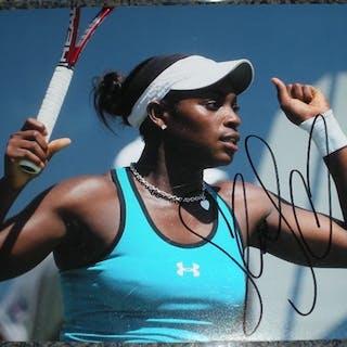 Stephens, Sloane Autographed 8x10 2012