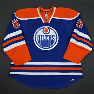 Davidson, Brandon Blue Set 2 Edmonton Oilers 2015-16 #88 Size: 58