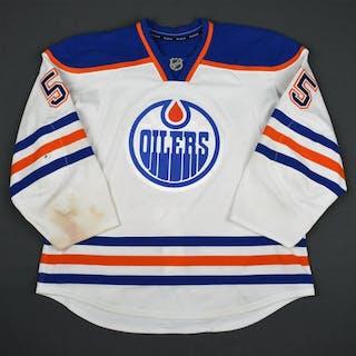 Letestu, Mark White Set 2 Edmonton Oilers 2015-16 #55 Size: 56
