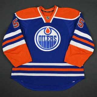 Letestu, Mark Blue Set 2 Edmonton Oilers 2015-16 #55 Size: 56