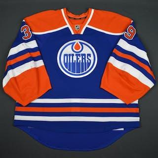 Nilsson, Anders Blue Set 2 Edmonton Oilers 2015-16 #39 Size: 58+G