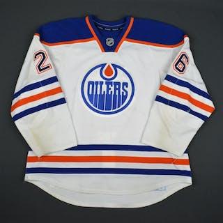 Pakarinen, Iiro White Set 2 Edmonton Oilers 2015-16 #26 Size: 58
