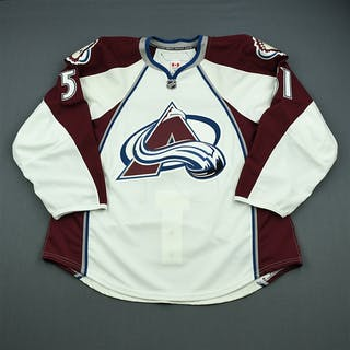 Fritsche, Tom White Set 1 - Game-Issued (GI) Colorado Avalanche 2010-11