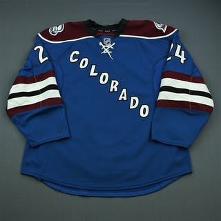 Montgomery, Kevin Third Set 1 - Game-Issued (GI) Colorado Avalanche