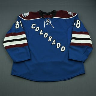 Mueller, Peter Third Set 1 - Game-Issued (GI) Colorado Avalanche 2010-11