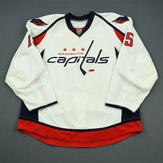 Gordon, Boyd White Set 3 / Playoffs Washington Capitals 2010-11 #15 Size: 56