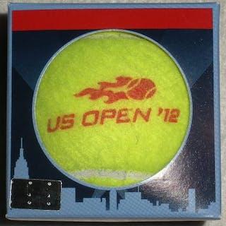 USTA Serves 2012 US Open Match-Used Ball