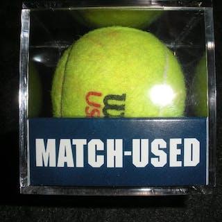 Agnieszka Radwanska vs. Carla Suarez Navarro Match-Used Ball - Round