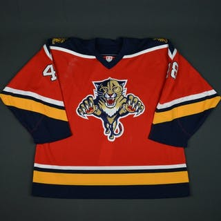 Elliott Red - CLEARANCE Florida Panthers #48 Size: 56