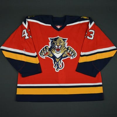 Olson, Josh Red - CLEARANCE Florida Panthers #43 Size: 56