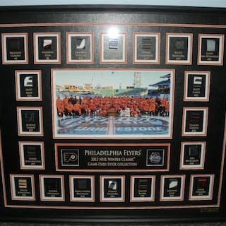 Winter Classic Game-Used Stick Collection Philadelphia Flyers 2011-12