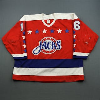 Sjogren, Thomas * Red Baltimore Skipjacks 1990-91 #16 Size: 54