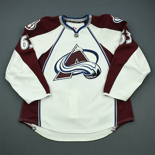 Silas, Stephen White Set 1 - Game-Issued (GI) Colorado Avalanche 2011-12