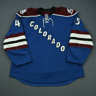 Walker, Luke Third Set 1 - Game-Issued (GI) Colorado Avalanche 2011-12