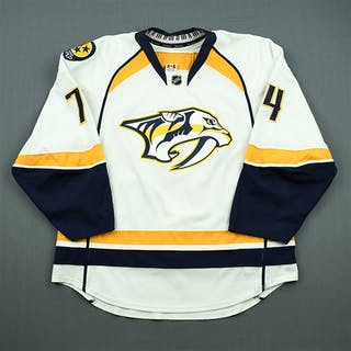 Kostitsyn, Sergei White Set 1 Nashville Predators 2012-13 #74 Size: 56