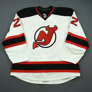 Barch, Krystofer White Set 2 New Jersey Devils 2012-13 #22 Size: 58+