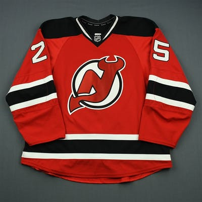 Kostopoulos, Tom Red Set 2 New Jersey Devils 2012-13 #25 Size: 56
