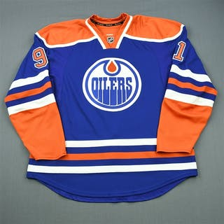 Paajarvi, Magnus Blue Retro Set 2 Edmonton Oilers 2011-12 #91 Size: 56