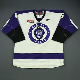 Haines, Casey White Set 1 Reading Royals 2011-12 #6 Size: 54