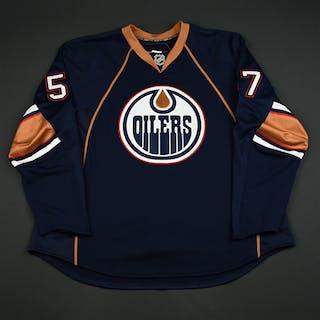 McDonald, Colin Navy Set 1 GI (RBK 1.0) Edmonton Oilers 2007-08 #57 Size: 58